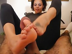 Cumshot, Foot Fetish, Footjob