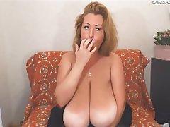 MILF, Saggy Tits, Webcam