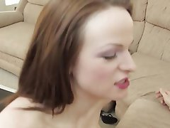 Big Boobs, Blowjob, Brunette