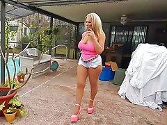 Blonde, Mature, Big Boobs, High Heels