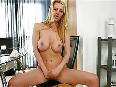 Big Boobs, Blonde, British, Masturbation, POV