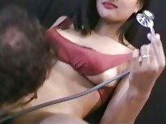 Interracial, Asian, Blowjob, Brunette, Hairy