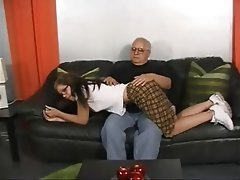 Old and Young, Pornstar, Spanking