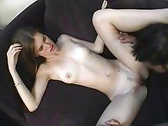 Anal, Brunette, Hardcore, Skinny