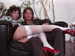Anal, Cumshot, German, Stockings, Vintage