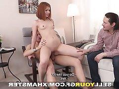 Blowjob, Redhead, Small Tits, Teen