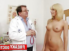 Old and Young, Czech, Blonde, Amateur