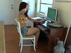 Teen, Girlfriend, Amateur, Webcam